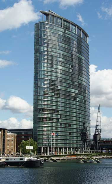 West India Quay in London's Docklands is another site where freeholder the Yianis Group is cheating residents, according to Fitzpatrick