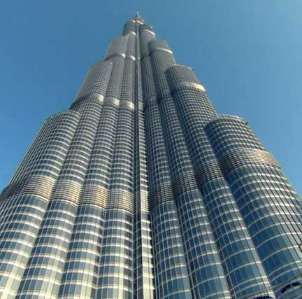 It's along walk to the top at the Burj Khalifa for those withholding service charges