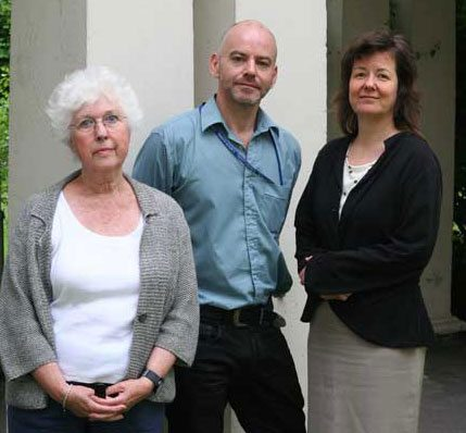 Brixton Hill Court RTM directors Angela Saul, Andrew Tracey and Dorothy Leiper