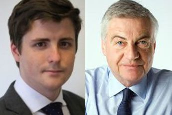 David Leslie and PR boss David Burnside, of New Century, which is employed by Vincent Tchenguiz. Leslie's email to Sir Peter Bottomley resulted in Tchenguiz's leasehold interests coming to the attention of the Commons