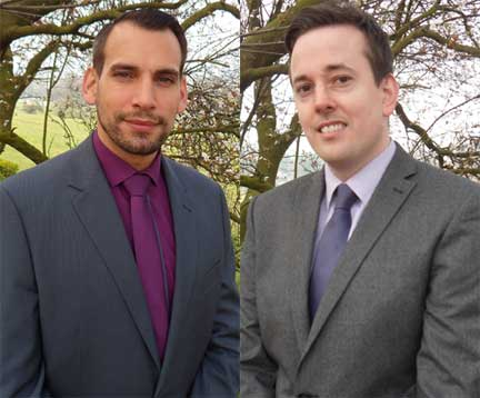 James Farrer and Joe Mallon, founders of the new JFM Management