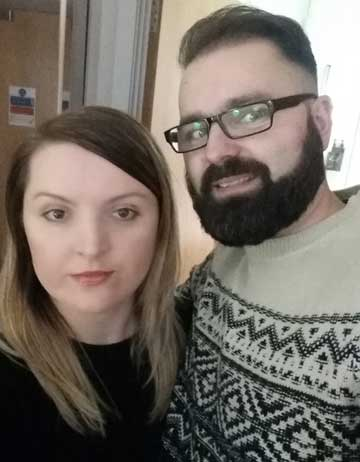 Patrick and Wieslawa Majszyk, from Poland, face ground rent demands from Paine for £2,800 a year