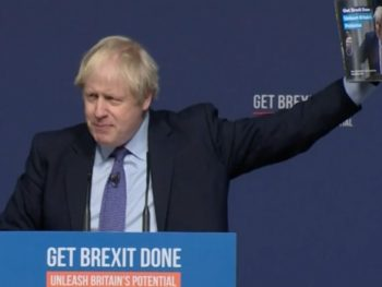 Boris Johnson Manifesto