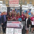 leasehold scandal campaigners