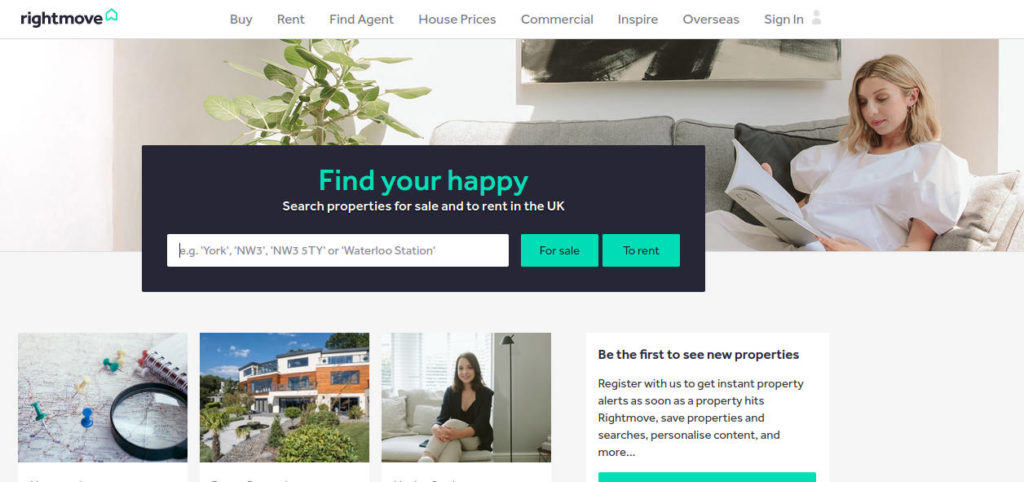 Rightmove website